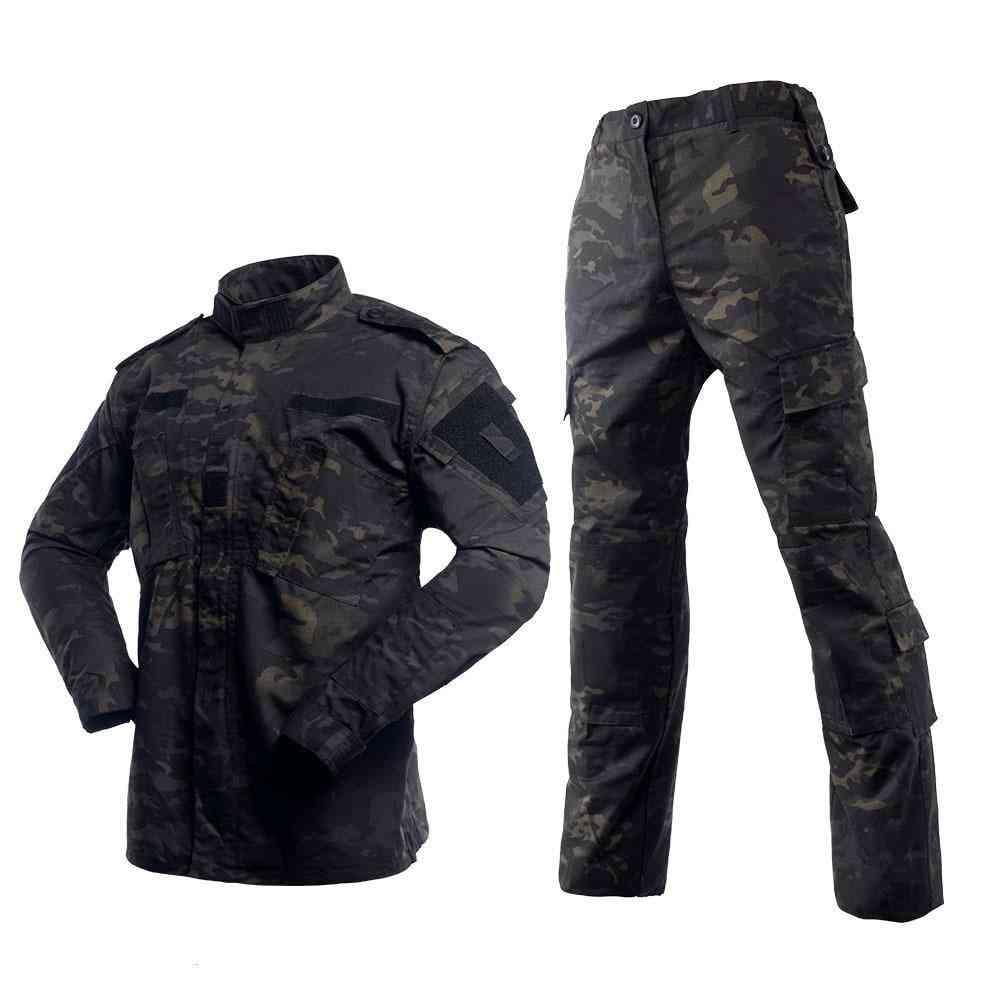 Camping Uniform Camouflage Suit, Jacket & Pants