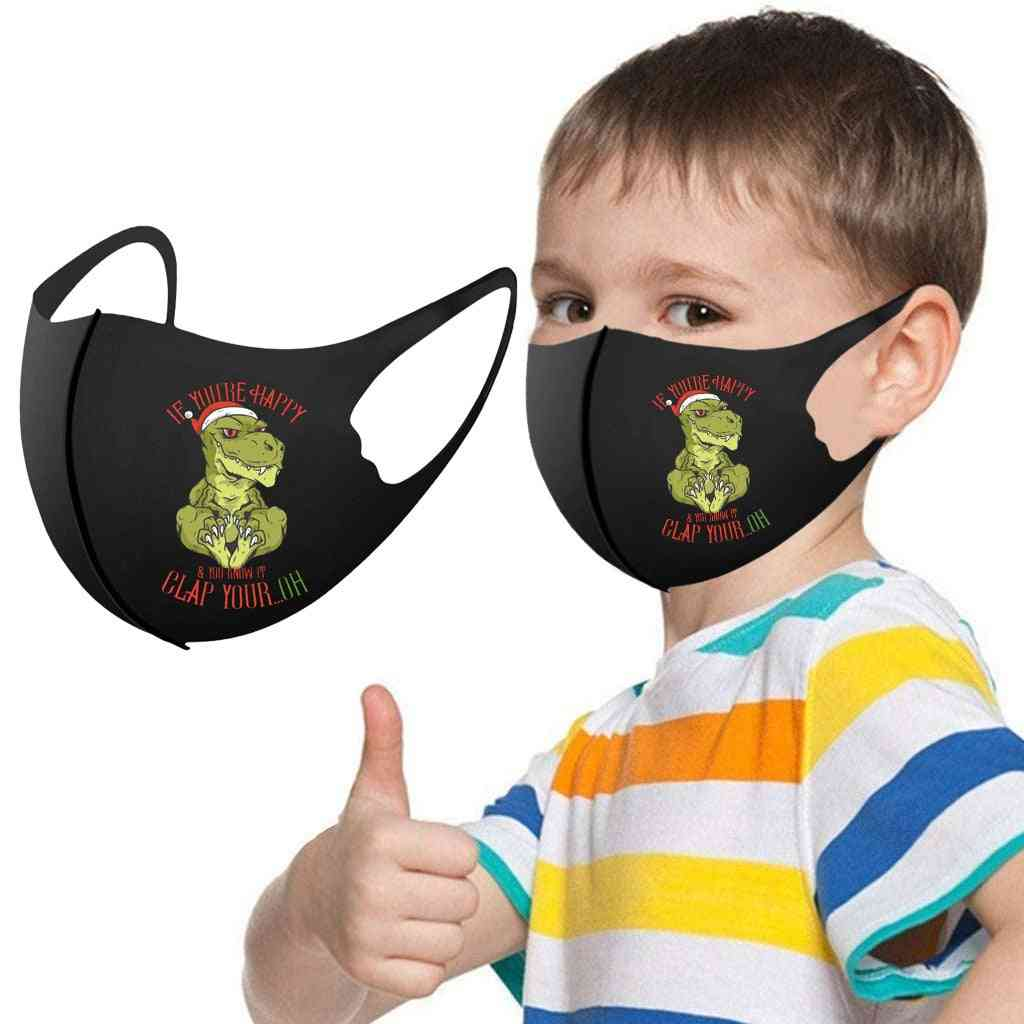 Boys & Washable Adjustable Cartoon Lovely Mask Cover