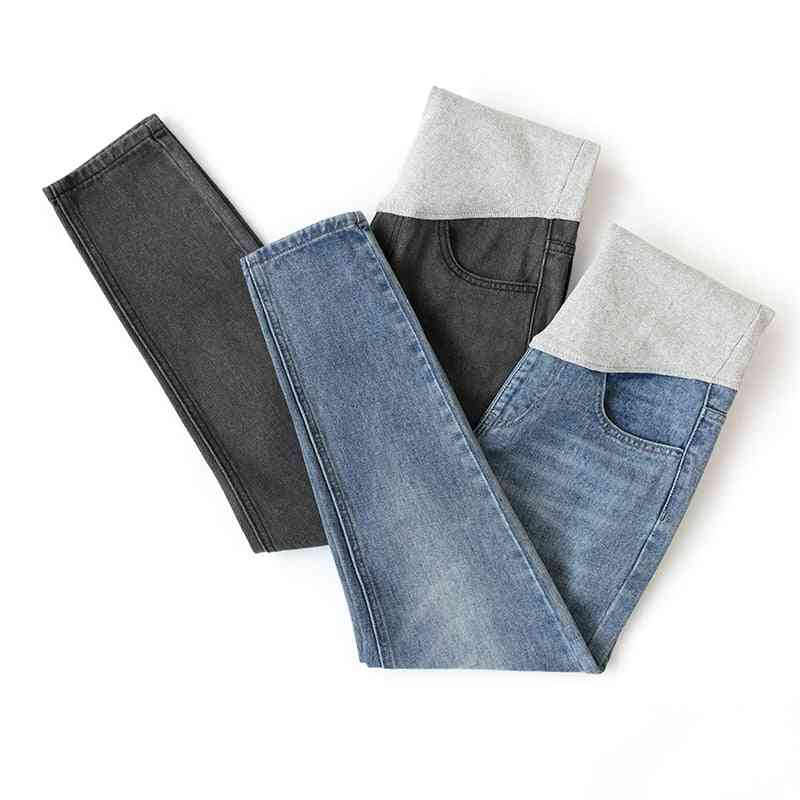 Autumn Winter Fashion- Maternity Jeans, Adjustable Belly Straight Pants