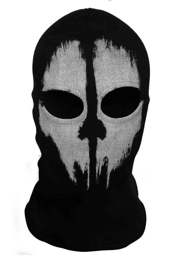 Outdoor Sports Hiking Cap- Windproof Ghost Skull Face Mask