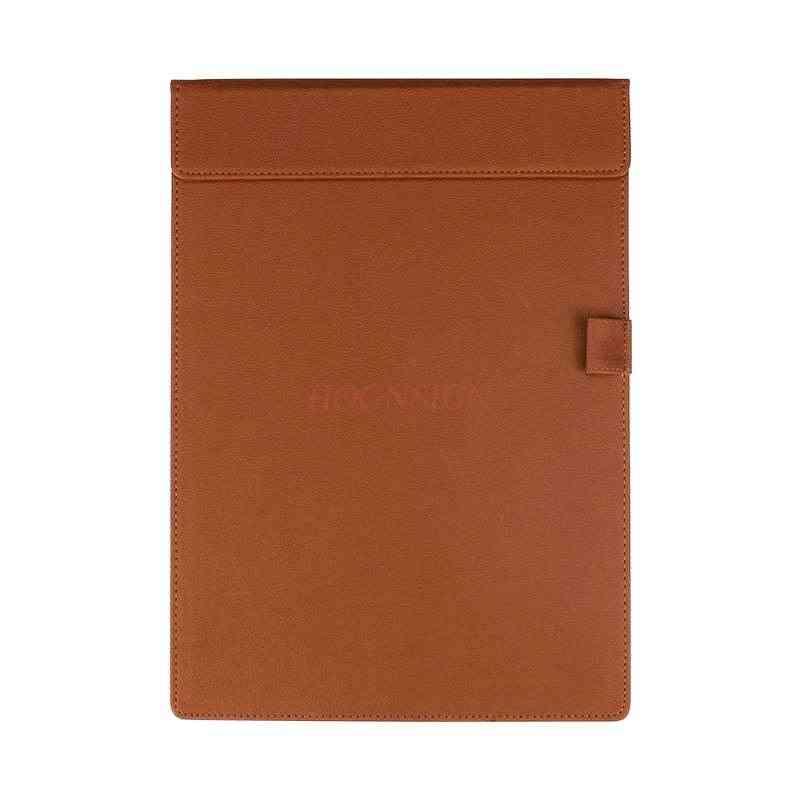 Discolored Pu Fabric Leather Writing Clipboard