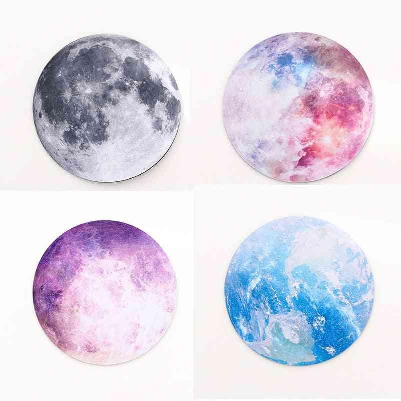 Moon Earth Desks, Mat Office Desk Organizer