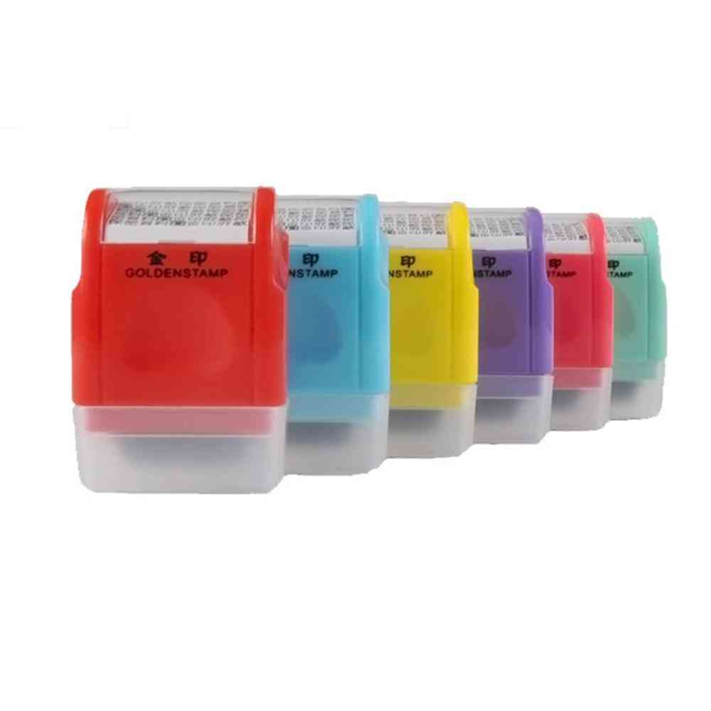 Personal Identity Protection Stamp Roller