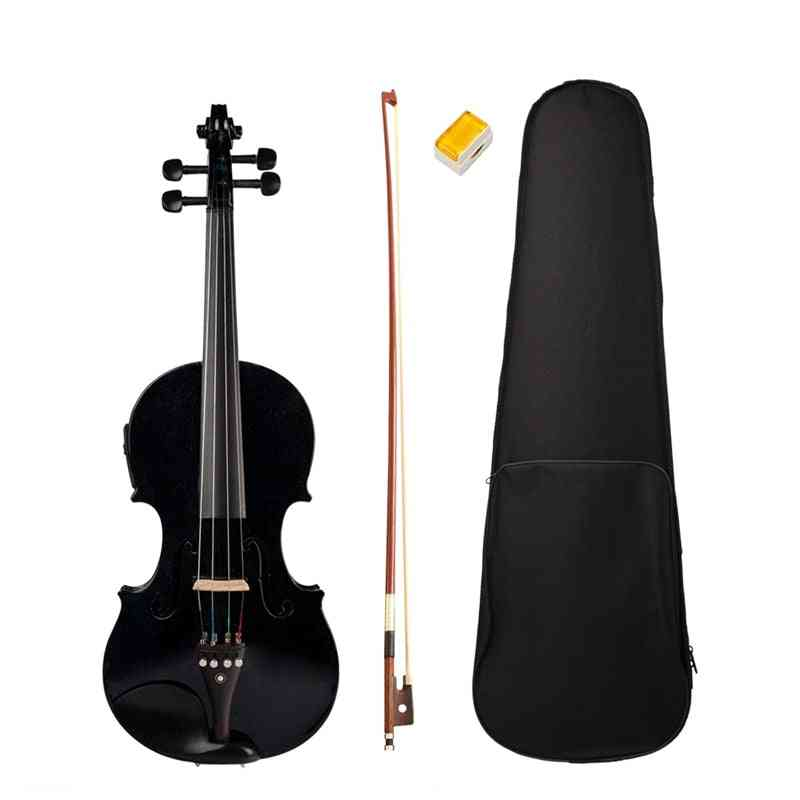 Electric Solid Wood Body Violin