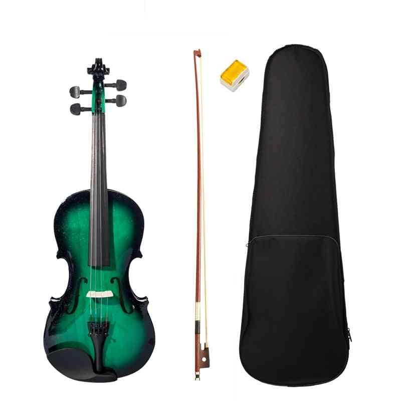 Beginner High Quality Violins Full Size With Violin Case Bow