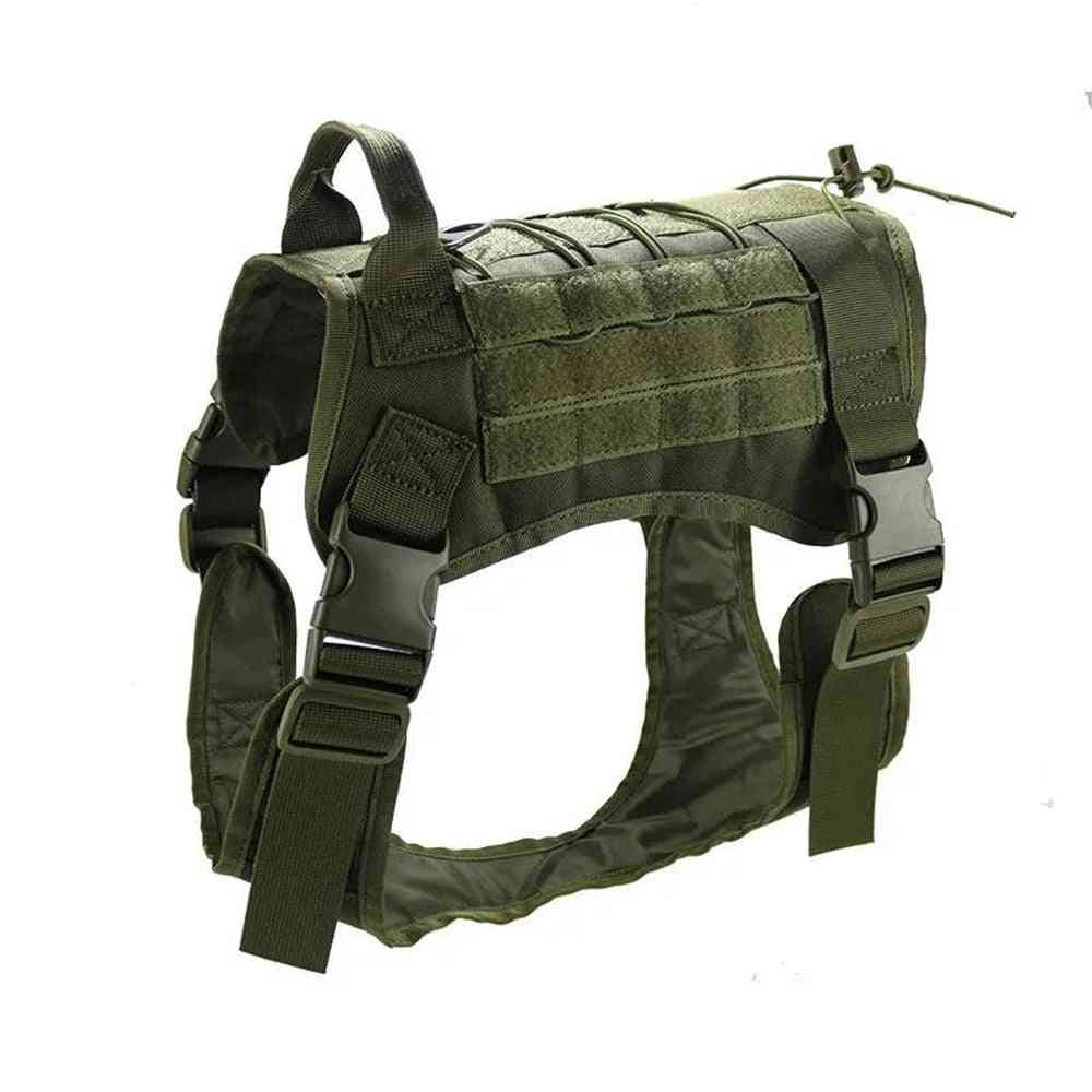Tactical Dog Vest- Breathable Clothes With Adjustable Harness