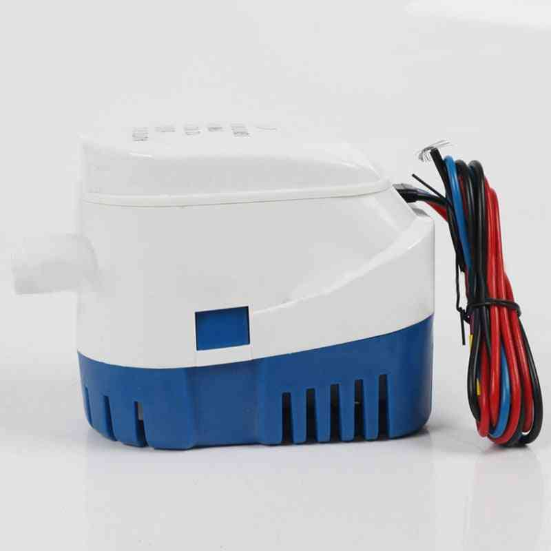 Automatic Boat Bilge Submersible, Electric Water Pump With Float