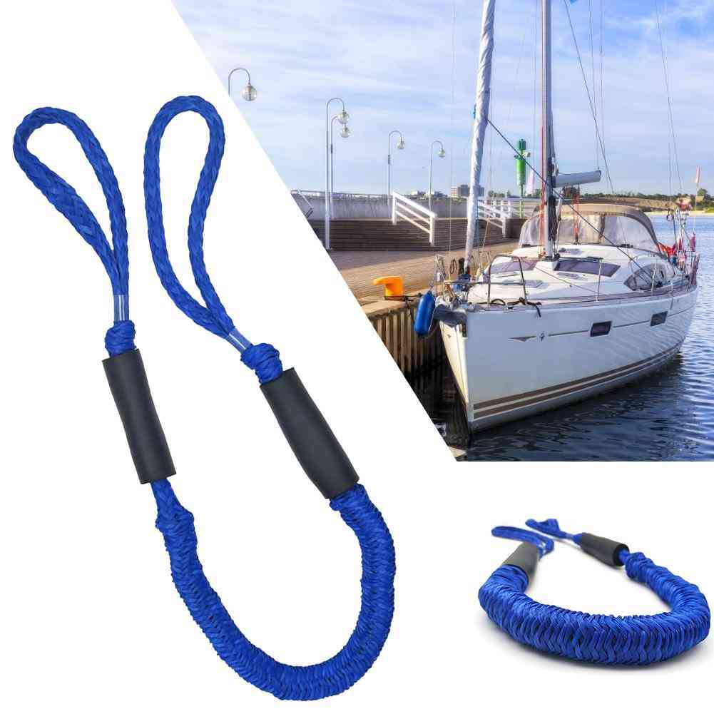 High Strength Marine Boat Bungee Dock Line -anchor Rope Mooring Cord