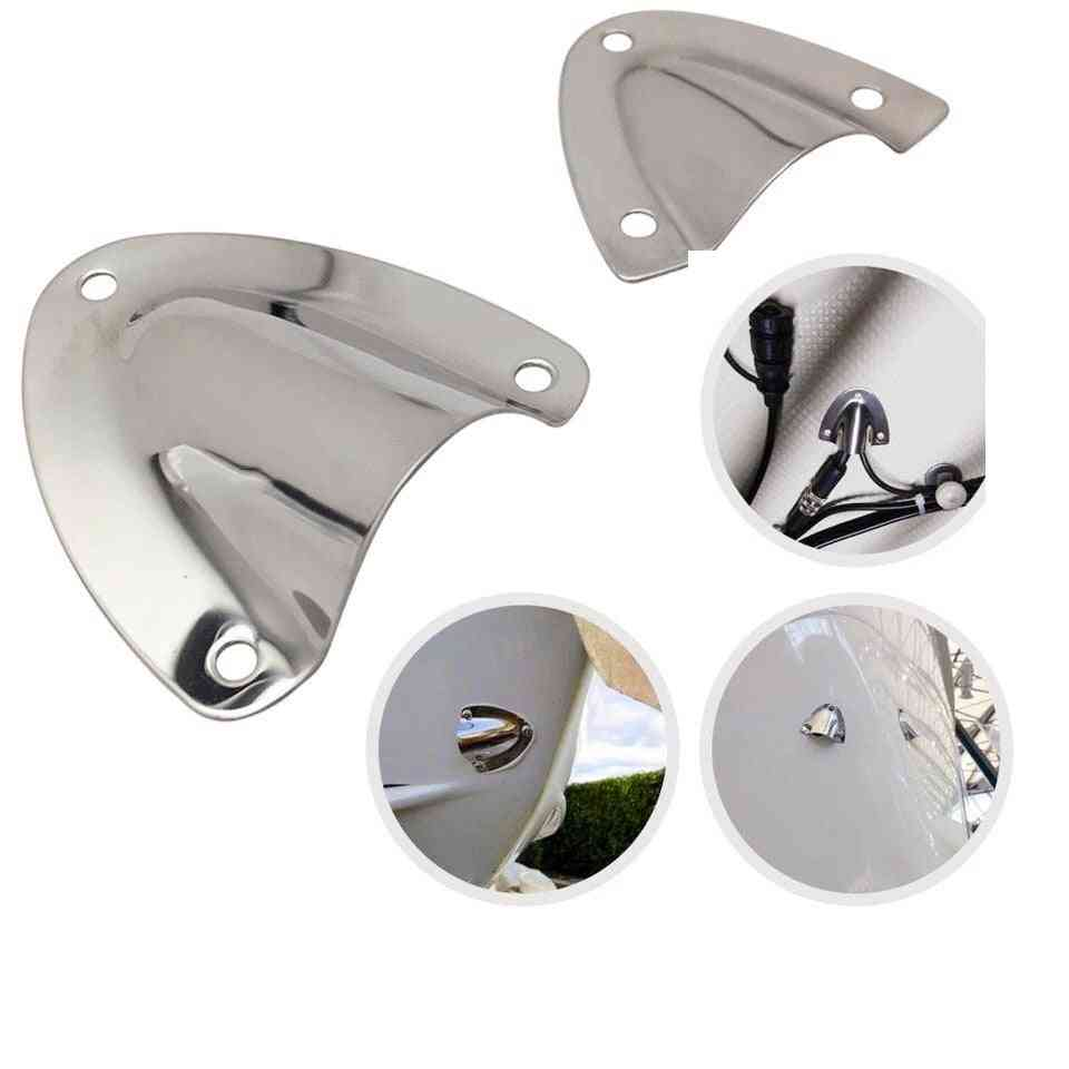 Stainless Steel Large Clam Shell Vent Cover For Boat/yacht/ Surfing