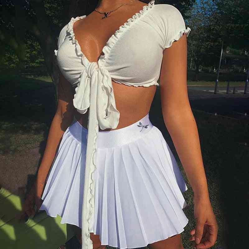 High Waist, Quick Dry Mini Sports Skirts