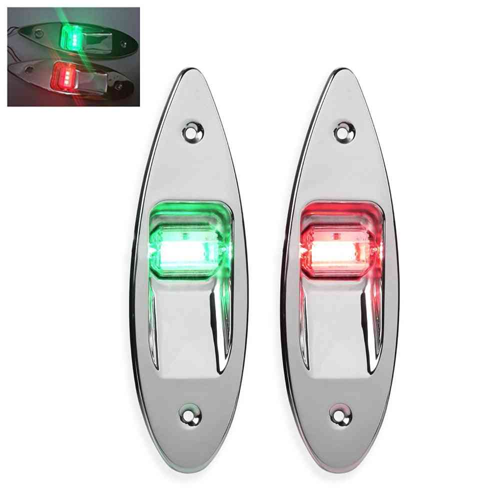 Stainless Steel Bow Navigation Light, Sailing Signal Waterproof