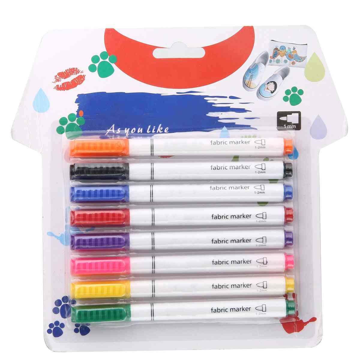 Clothes Textile Markers, Fabric Paint Pens For Crafts