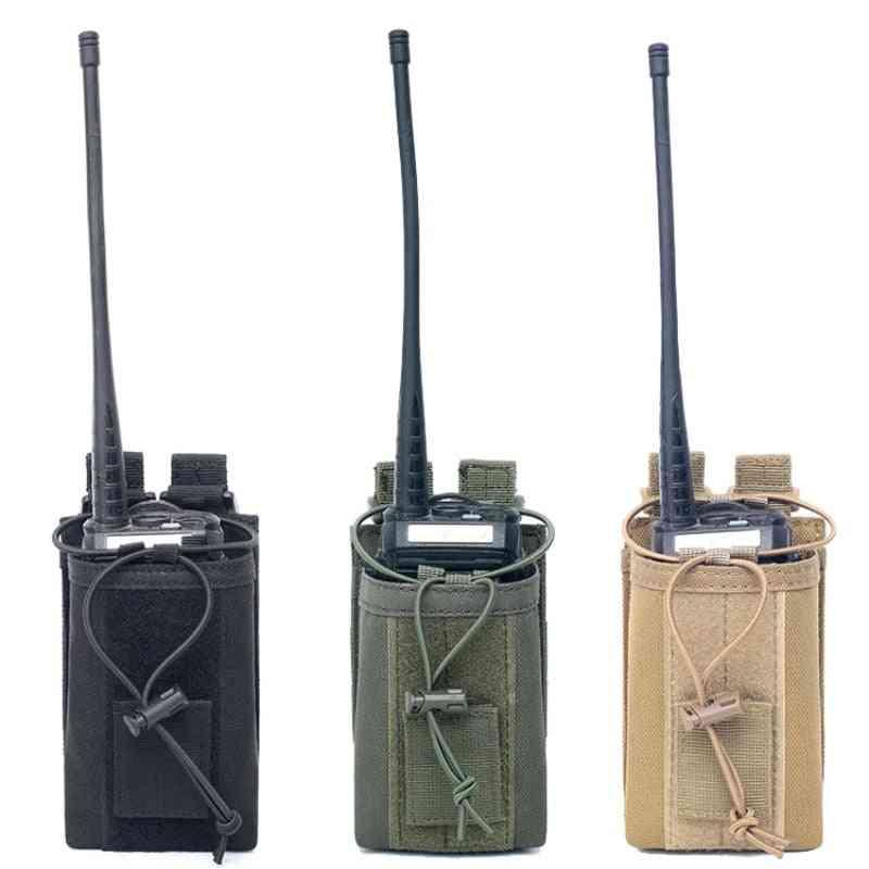 Military Radio Walkie Talkie Holder Bag