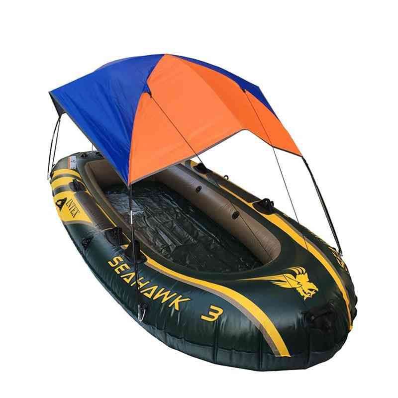 Sun Shade Shelter, Lightweight Folding Inflatables Boat Top Cover Tent