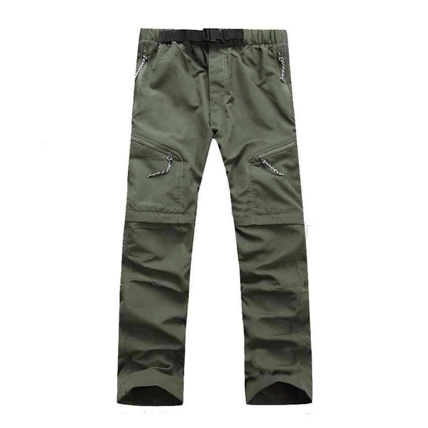 Men's Quick Dry, Detachable Hiking Pants- Outdoor Sport Breathable Thousers