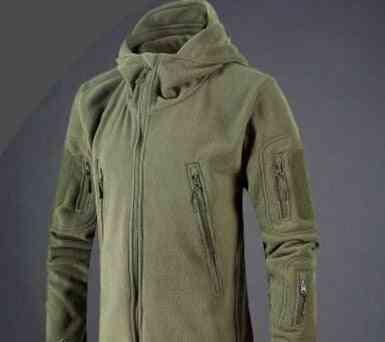 Military Tactical  Soft Shell Fleece Jacket