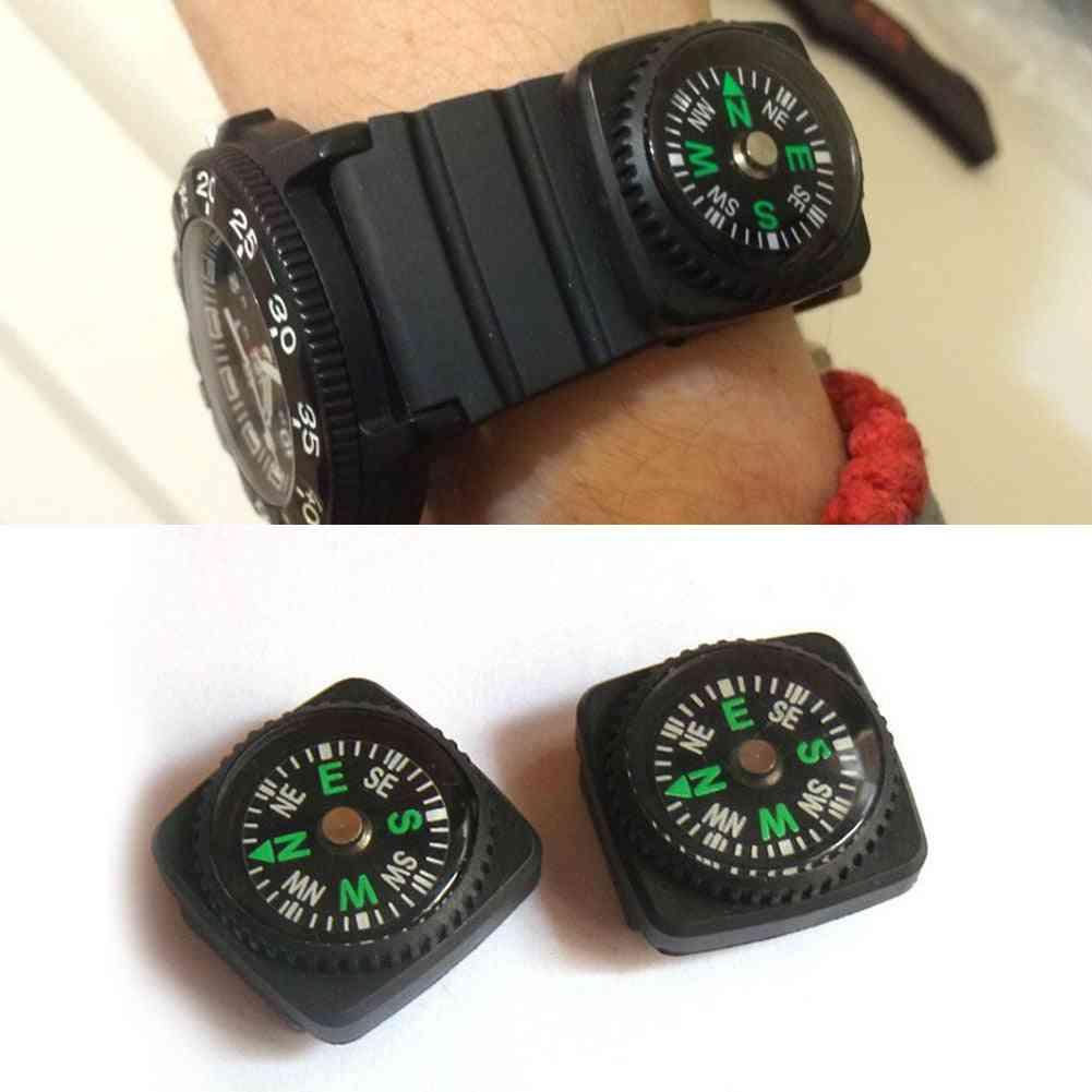 Portable Belt Buckle, Mini Compas