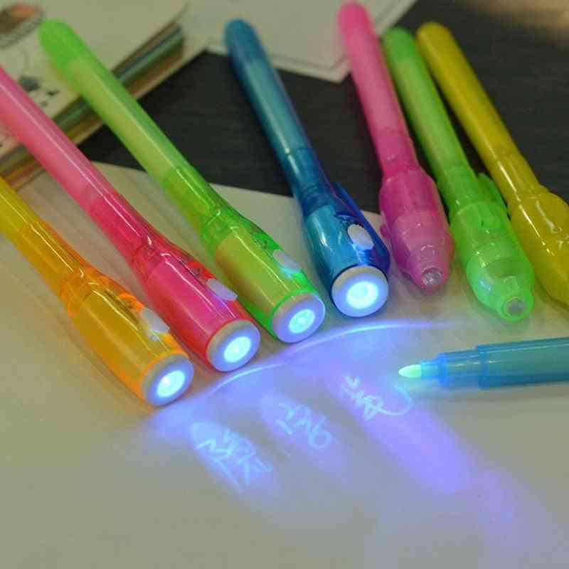Creative Uv Light Invisible Ink- Marker Pen
