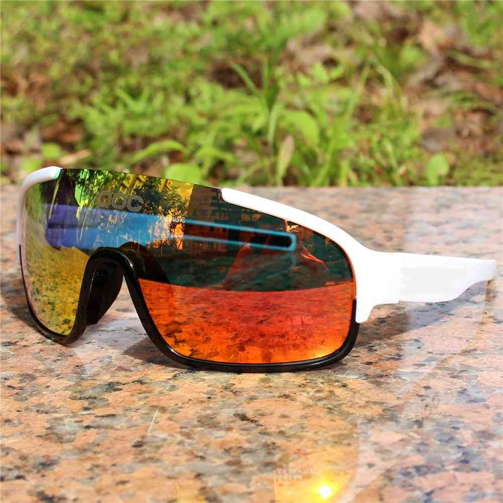 Polarized Airsoftsports Blade Cycling Sunglasses, Men Sport Road Mtb Mountain Bike Glasse