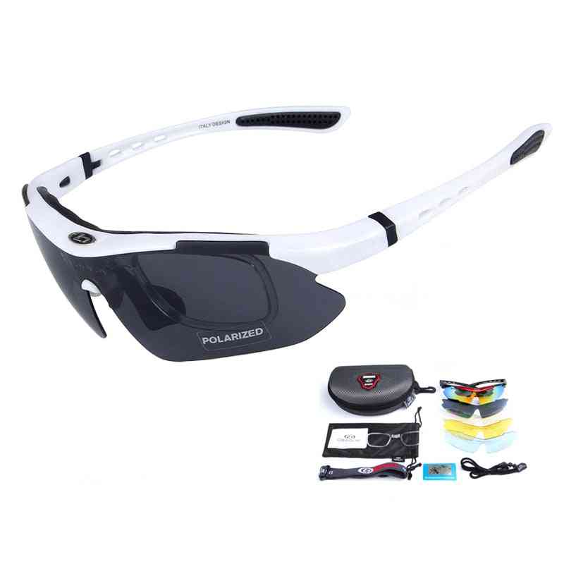 Anti-impact, Tactical Goggles With 5 Lens Set