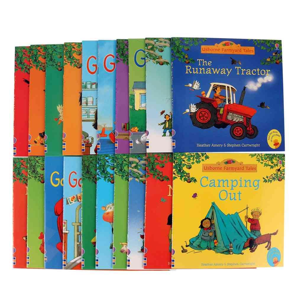20pcs Usborne Farmyard - English Tales Series Picture Books