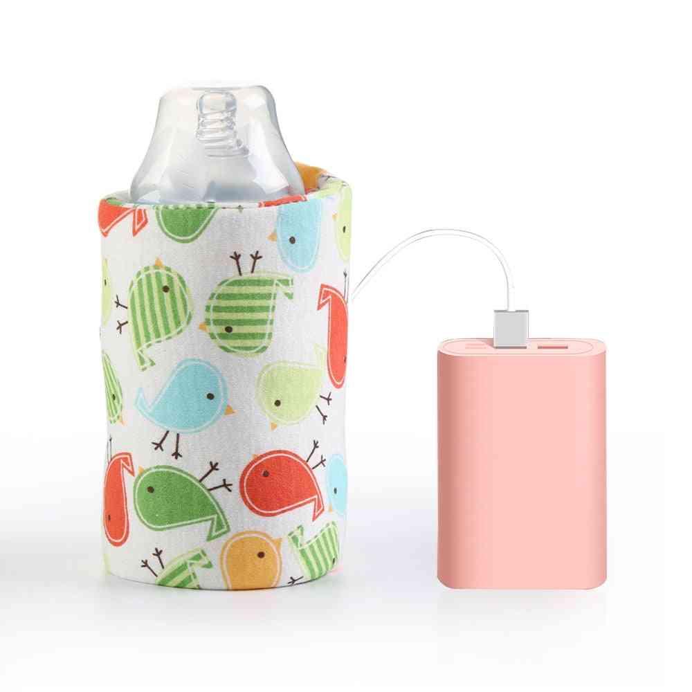 Usb Milk Water Warmer Travel Stroller Insulated Bag