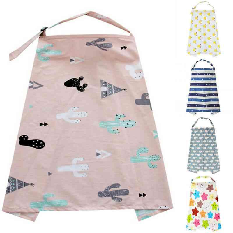 Fashion Mommy Apron Infant Shawl Scarf, Cotton Mum Blanket