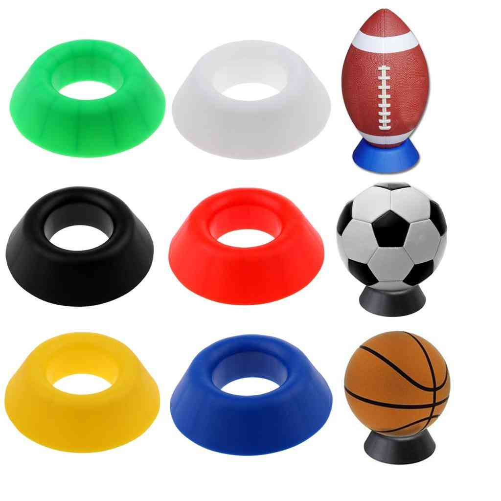 Basketball/football/soccer/rugby Display Holder - Support Base Seat