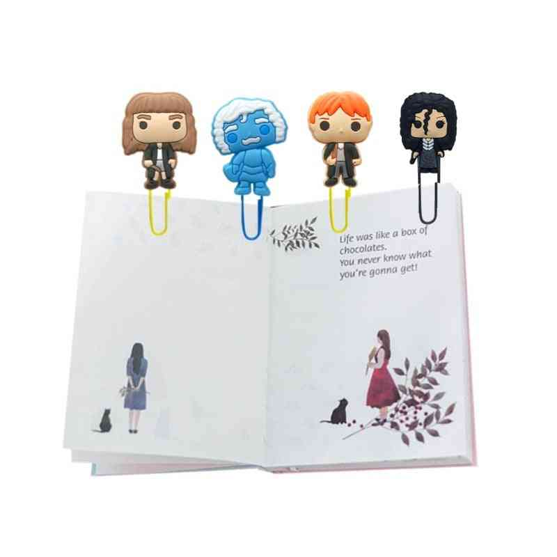 Cartoon Movie Figure Bookmarks/paper Clips