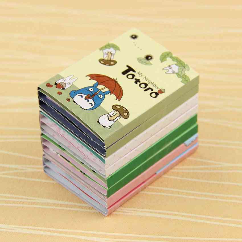Cute Animal Design, 6 Folding Memo Pads-sticky Notes For Notepad/bookmark