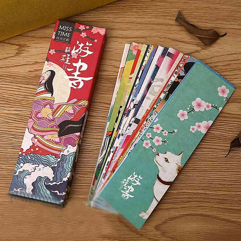 Cute Vintage Japanese Style Book Marks/student/school/ Office