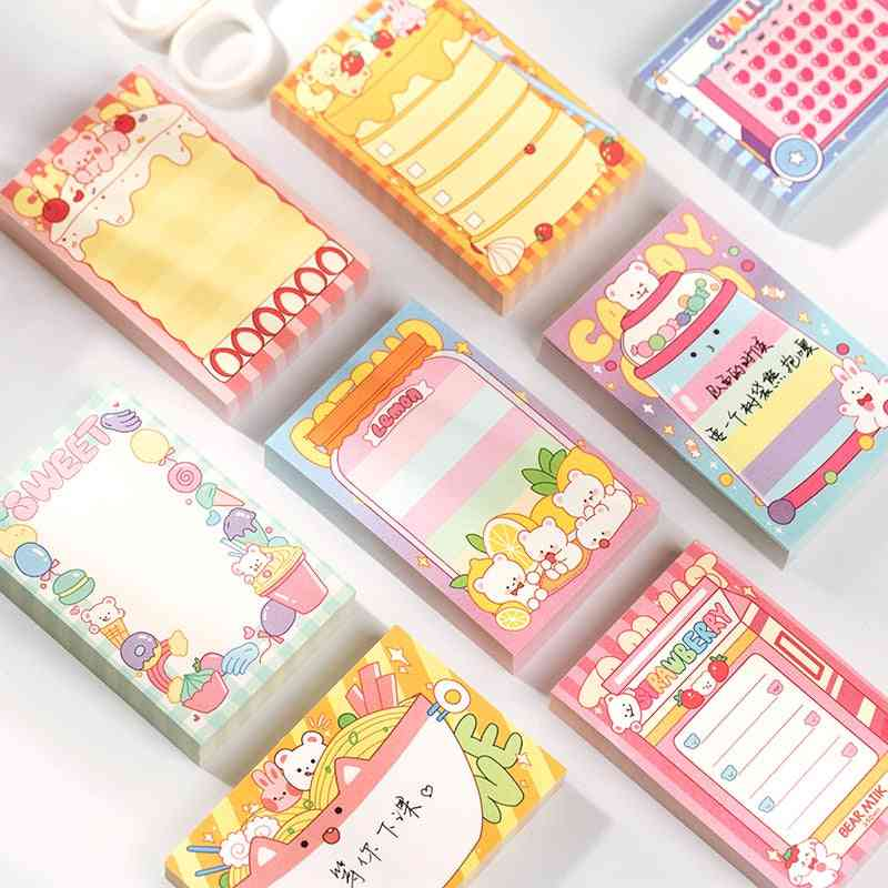 Sweetheart Limited Series-memo Pad For Decorative Notebooks