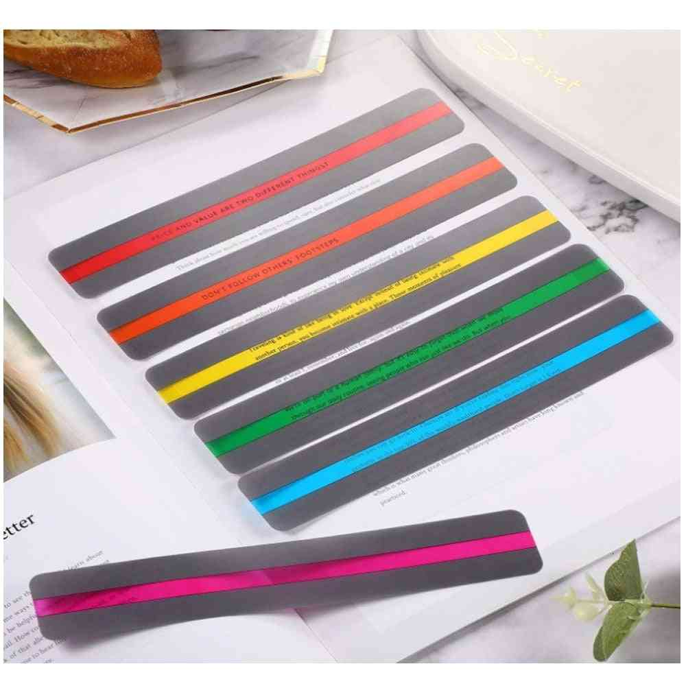 Guided Reading Strips Bookmark