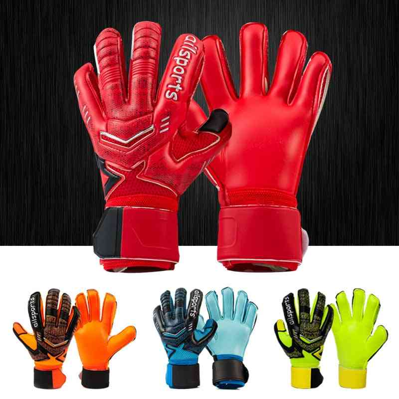 Professional Goalkeeper Latex Finger Protection Gloves For, Adults