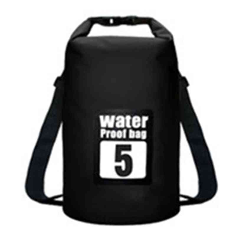 Pvc Waterproof Backpack- Sports Dry Bag For Rafting/swimming/camping