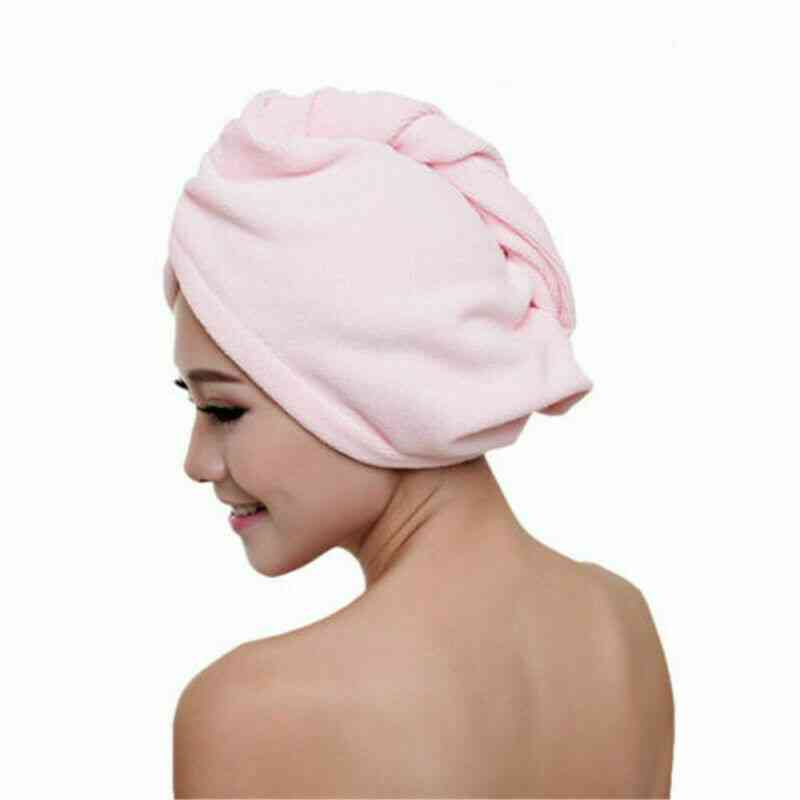 Rapid Fast Drying Hair Hat Absorbent Towel Cap