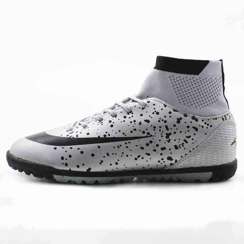 Men's High Ankle Tf Ag Sole, Outdoor Cleats Football Boots / Shoes