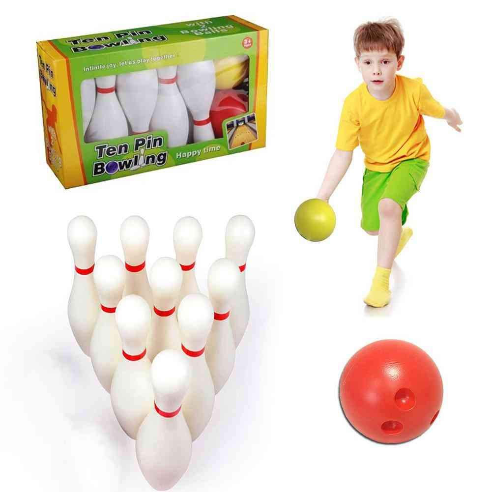 Kid's Bowling Set With Storage Box For