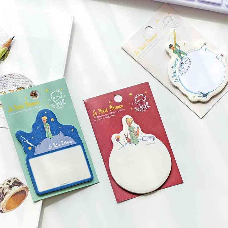 Little Prince Memo Pad Paper-sticky Notes For Office/school