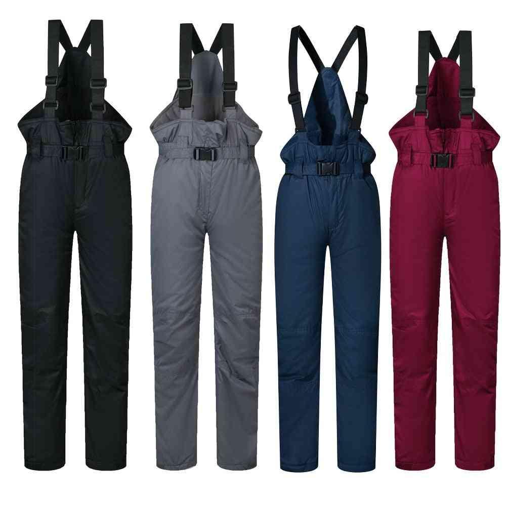 Boys And, Winter Warm Outdoor Sports Ski Pants -  Windproof, Waterproof