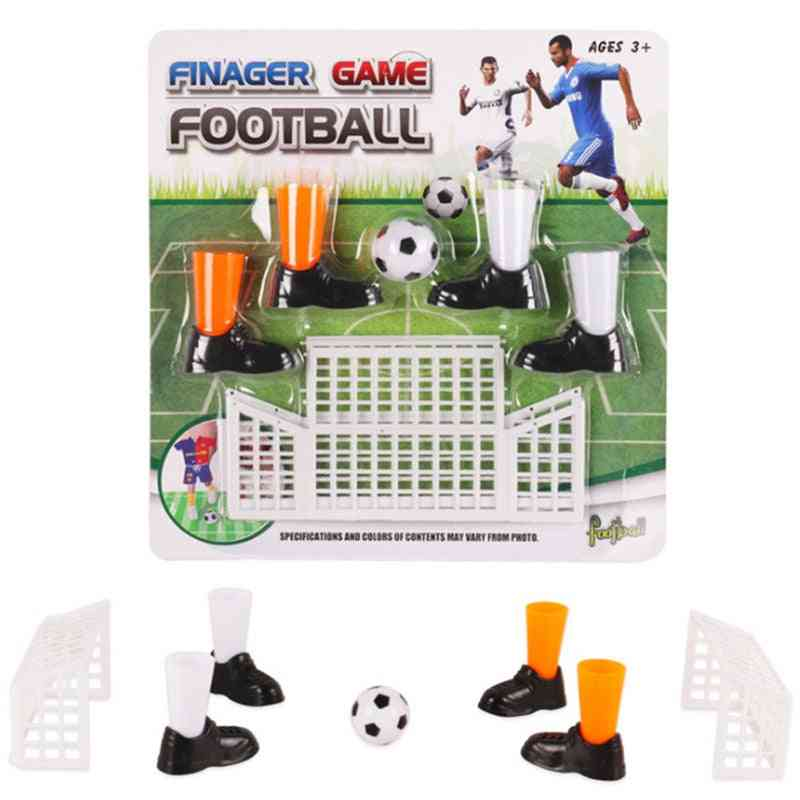 Finger Footballs Match Game Set With Two Goals, Boots And Ball
