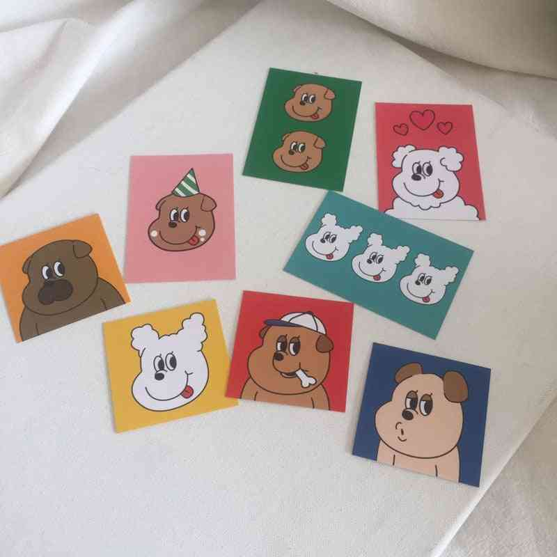 Lovely Dog Printed, Creative Decorative Cards