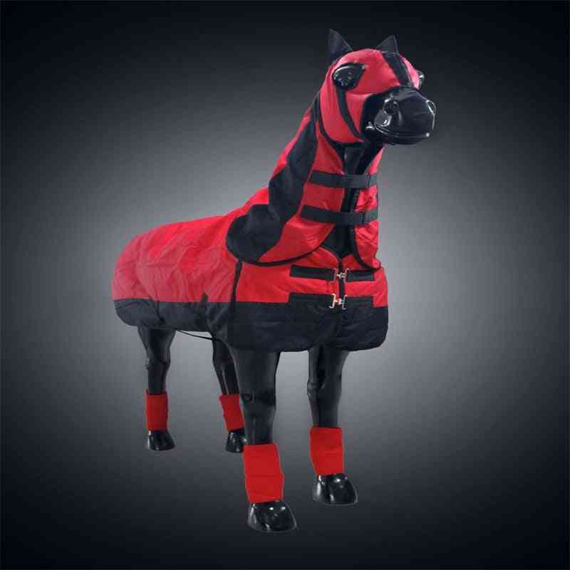 Detachable Horse Cloth With Headcover And Leggings