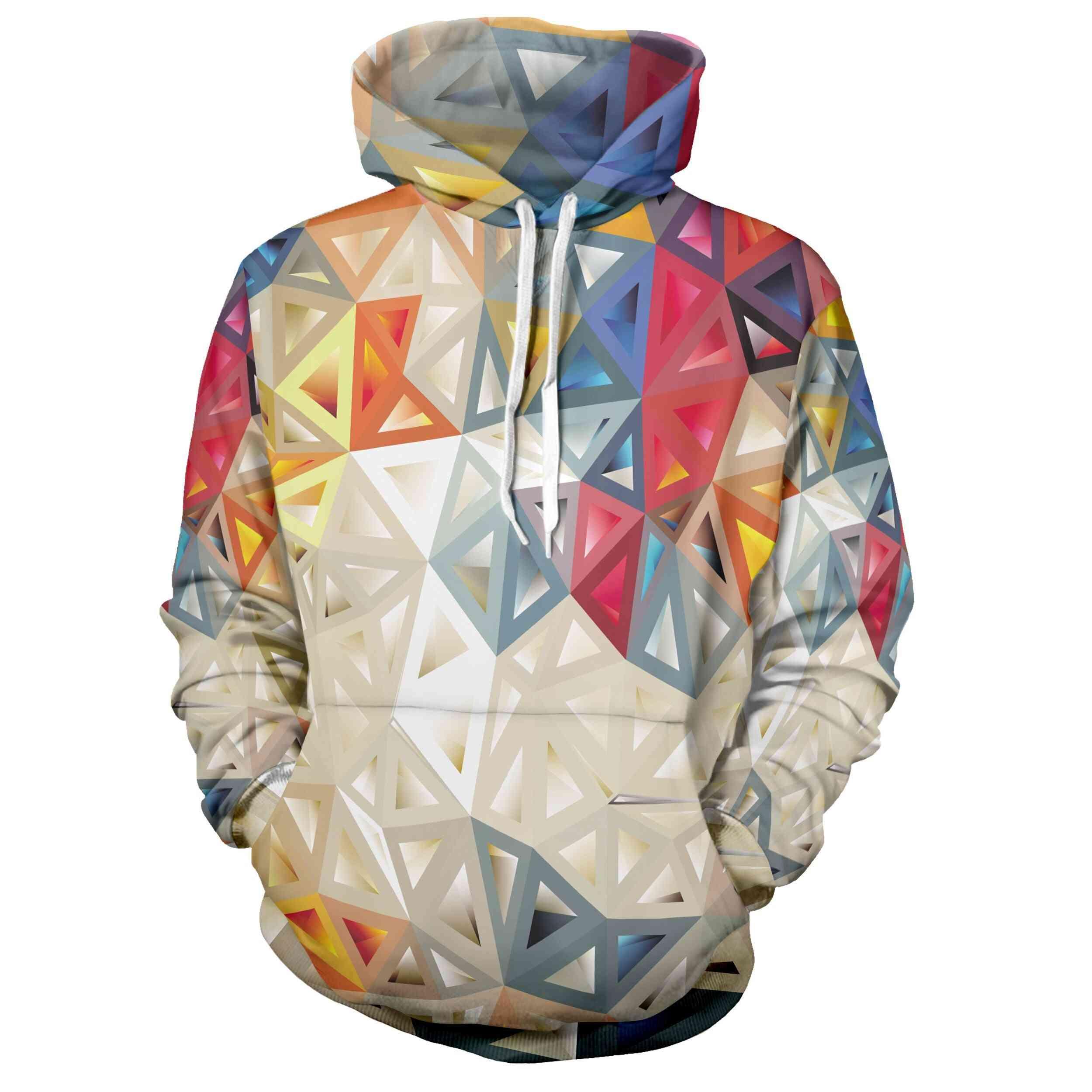 New Fun Gimmick 3d Hoodie, Skateboard Hoe Autumn And Winter Fashion Sportswear