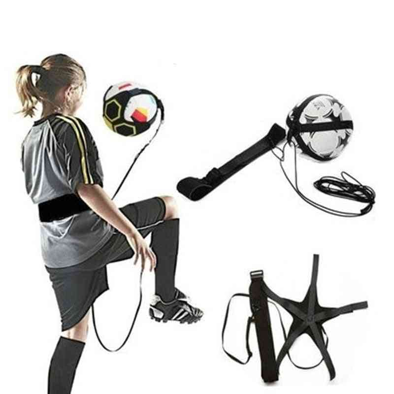 Children Auxiliary Circling Belt - Solo Football Training Equipment Kick Trainer