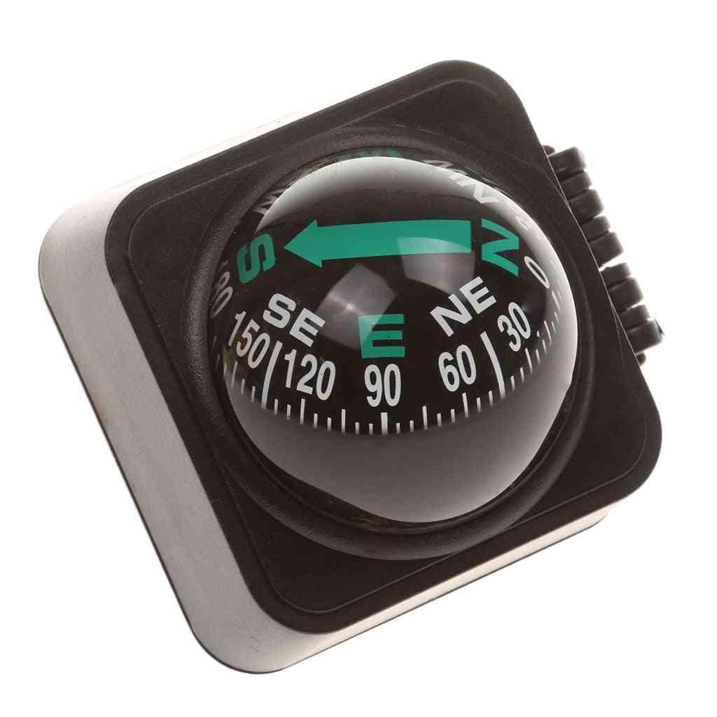 Marine Compass Ball Navigation For Boat, Car, Truck, Vehicle & Dashboard Adjustable