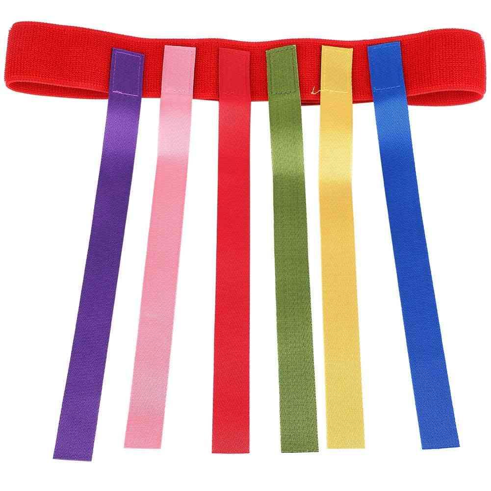 Children Outdoor Toy Belt For Catching Tail Training Equipment, Teamwork Game
