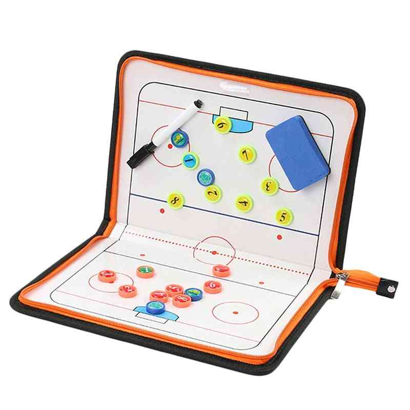 Ice Hockey Clipboard Game Match Training Plan Accesories