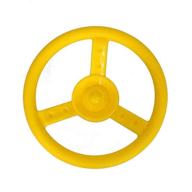 Children's Climbing Frame- Steering Wheel Pirate Playground Set