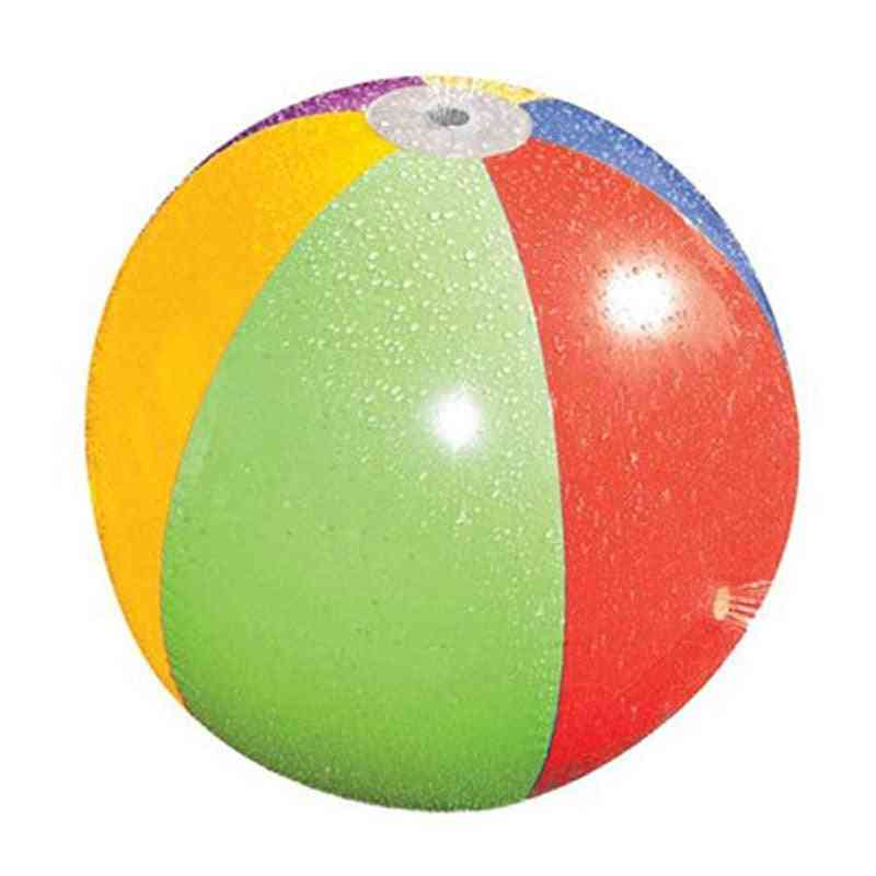 Water Play Jet Ball- Pvc Inflatable Summer Game Toy